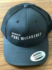 Rare Paul Mccartney Freshen Up 2019 Baseball Cap Hat Black Gray New Mint Beatles