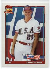 1991 Topps Traded Jason Giambi Rookie Card RC USA #45T NM/MT