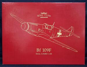 Eduard Royal Class #R0014 1/48 Bf 109F DUAL COMBO Model Kit!