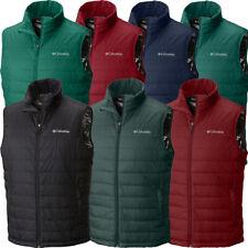 "$90 New Mens Columbia ""Crested Butte II"" Insulated Omni-Heat Omni-Shield Vest"