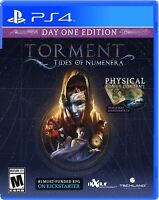PLAYSTATION 4 PS4 VIDEO GAME TORMENT TIDES OF NUMENERA BRAND NEW SEALED