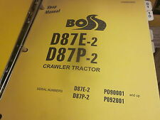 Komatsu D87E-2 D87P-2 Bulldozer Repair Shop Manual