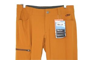 Outdoor Research Ferrosi Lightweight Hiking Pants Women's Size 8 #1429 Curry NWT