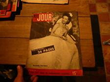 magazine hebdomadaire NUIT ET JOUR  n°75 1946 danielle darrieux