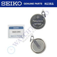 302324X for 7D46 7D48 7D56 Seiko Kinetic Watch Capacitor Battery