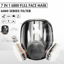 7 in 1 6800 Large Gas Masks Full Face Facepiece Respirator Painting Spraying