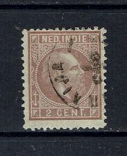 "NETHERLANDS INDIES 1872 #5.F xfu ""lilac-brown"" E396f"
