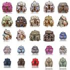 Anna Smith LYDC Owl Tree Colour Print Retro Rucksack / Backpack / Shoulder bag