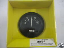 """Ammeter Amp Gauge 2 5/8"""" Black Brand New! Hdwr Incl. Fits Chevy & Ford HHO"""