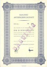 Saalbau AG  100DM  Neustadt an der Weinstrasse  1958