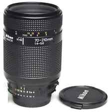 Nikon AF zoom Nikkor 70-210mm f4-5.6