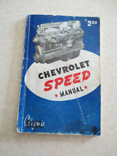 Vintage 1949 Chevrolet speed manual - early hot rod book