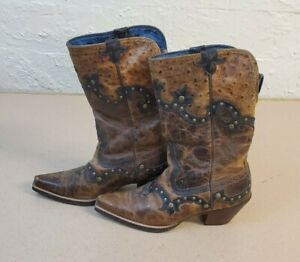 Ariat Rogue Women's Size 6.5B Cowboy Cowgirl Boots Pointed Snipped Toe 10008778