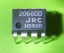 JRC NJM2068MD SMD IC OPAMP QUAD HI-GAIN WB 14-DIP