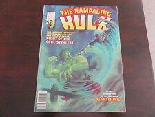 Rampaging Hulk #7 (Feb 1978, Marvel) VF NM 9.0
