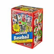 2019 Topps Archives Baseball EXCLUSIVE Factory Sealed Blaster Box-BONUS 2 Coins!
