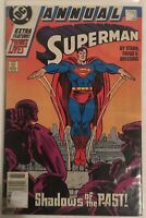 SUPERMAN ANNUAL No 2 1988 COMIC * DC COMICS * THE CADMUS SHADOWS of the PAST