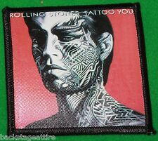 Rolling Stones Tattoo You Mick Jagger Iron/Sew On Patch Badge Applique-New!