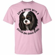 Cavalier King Charles Spaniel T-shirt, Life Is Better With  A Cavalier