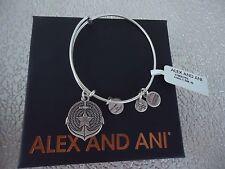ALEX and ANI ANCHOR II Rafaelian Silver Finish Bangle New W/ Tag Card & Box