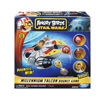 Angry Birds Star Wars Millennium Falcon Bounce Game Toy A3380 Hasbro 8 Original