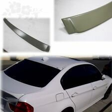 Unpainted BMW E90 4Dr A Style Rear Roof Spoiler 05-11 335i 328i xDrive 3M Tape