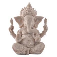 Kunstwerk Skulptur Handgeschnitzte Figur Lehre Requisiten Elefanten