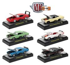 1:64 M2 Machines Detriot Muscle R38 = COMPLETE SET OF of 6 *10th Anniversary ED*