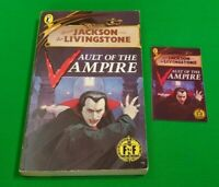 Vault of the Vampire ***VGC 1st EDITION!!*** Fighting Fantasy Puffin #5