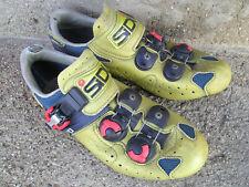 Sidi Yellow/Gold Boa Road Shoes-Size 40/7