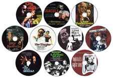 Horror Film/Movie DVD Collection: Vincent Price, Christopher Lee, Peter Cushing