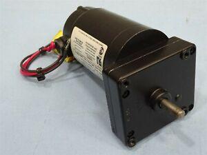 Dayton 4Z539A, Permanent Magnet DC Gearmotor, 90VDC, 0.42A, 31:1 Ratio, 1/30H...