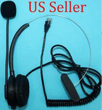 K10 Headset for Polycom 300 335 430 450 500 550 560 600 650 670 Adtran 706 712 W
