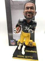 Jerome Bettis 'bus' Bobblehead STEELERS FoCo BUS BOBBLE ORIG BOX ONLY #198 MADE