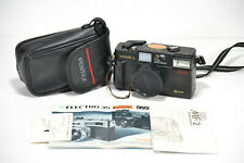 Yashica MF-2 Super 1:3.8 P&S 35mm film camera with pentax case