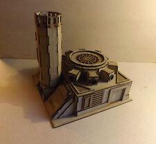 Trash Furnace scenery terrain warhammer 40k wargame Infinity wargaming building