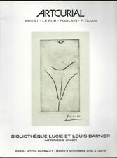 BIBLIOTHEQUE LOUIS BARNIER CATALOGUE VENTE ARTCURIAL 8/11/2005