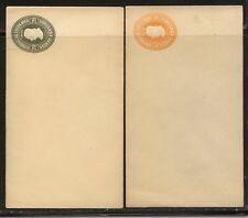 Costa Rica 2 postal envelopes unused Kl0918