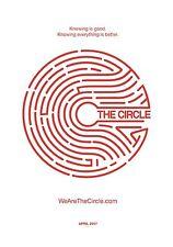 The Circle Movie Poster (24x36) - Emma Watson, Karen Gillan, Tom Hanks, Boyega