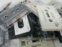 Lot of 25 -  Used CASSETTE TAPES for CRAFTS or DECORATION
