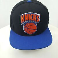 New York Knicks Mitchell And Ness Hat Snapback NBA Basketball Hardwood Classics