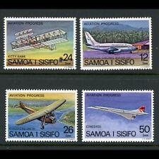 Samoa 1978 Aviation Progress. Sg 501-504. Excellent État Jamais Utilisé (AT562)