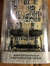 Skullcandy iPod Touch Case & Riot Noise Isolating Earbuds