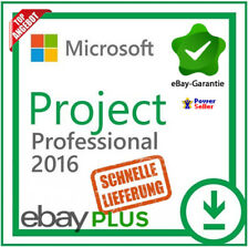 Microsoft Project 2016 Professional PRO ✔ MS® PROJECT C2R ✔ 30 Sek. LIEFERUNG ✔
