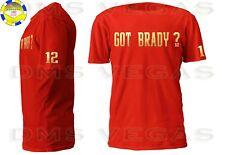 New England Patriots Tom Brady Jersey Tee Shirt Men Size S-5XL GOLD Got Brady?