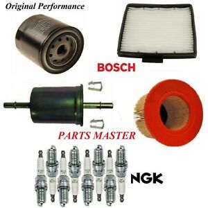 Tune Up Kit Filters Spark Plug For FORD F-150 V8 5.4L 2000-2003