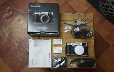 Fujifilm Fuji FinePix X Series X100S 16.3MP Silver (Body only) 2 batteries UK