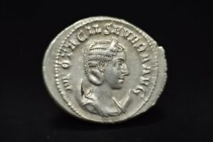 Otacilia Severa AR Antoninianus.Rome (possibly Antioch) mint, 246-248 AD/N185