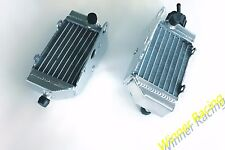 RIGHT+LEFT ALUMINUM RADIATOR FIT HUSQVARNA TC50 TC 50 MINI 2017-2018 BRACED