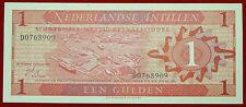 NETHERLANDS ANTILLES 1 GULDEN 8.9.1970 BANKNOTE  P 20a